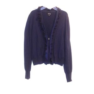 💙APT 9 Cardigan Sweater With Front Zip. Size L